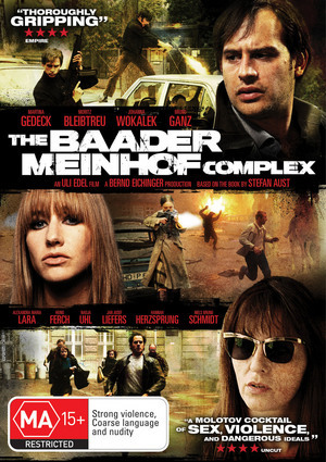 The Baader Meinhof Complex on DVD