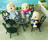 Sylvanian Families: Ornate Garden Table & Chairs