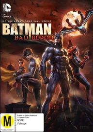 Batman: Bad Blood on DVD