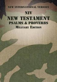 NIV, New Testament with Psalms and Proverbs, Military Edition, Paperback, Woodland Camo by Zondervan