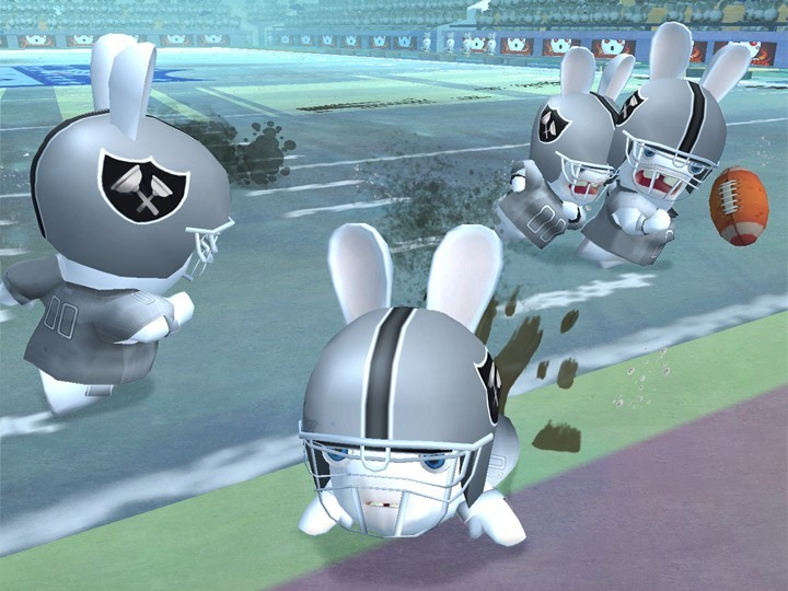 Rayman Raving Rabbids Trilogy Party Collection for Nintendo Wii image