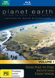 David Attenborough's Planet Earth Collection - Volume 1 on Blu-ray image