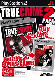 True Crime / True Crime 2 Double Pack for PlayStation 2 image