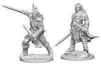 Pathfinder Deep Cuts: Unpainted Miniature Figures - Human Male Fighter