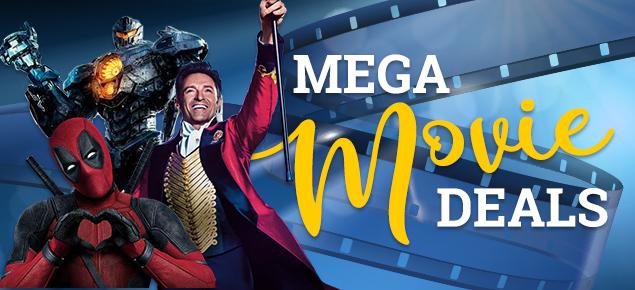 Mega Movie Deals! Up to 40% off!