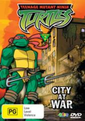 Teenage Mutant Ninja Turtles - Season 2 Vol. 14: City At War on DVD