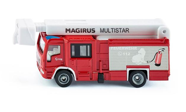 Siku: Magrius Multistar Fire Truck - Diecast Vehicle