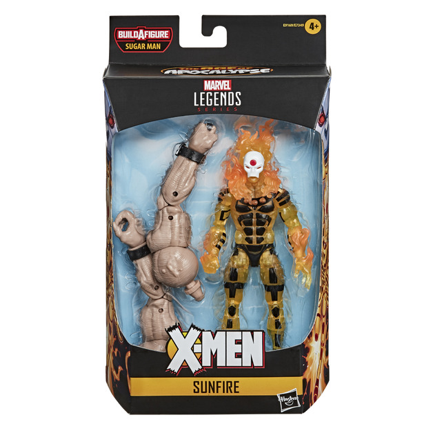 "Marvel Legends: Sunfire - 6"" Action Figure"