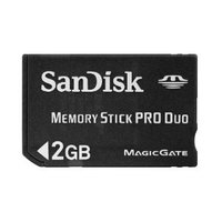 Sandisk MS Pro Duo 4GB - No Adaptor image