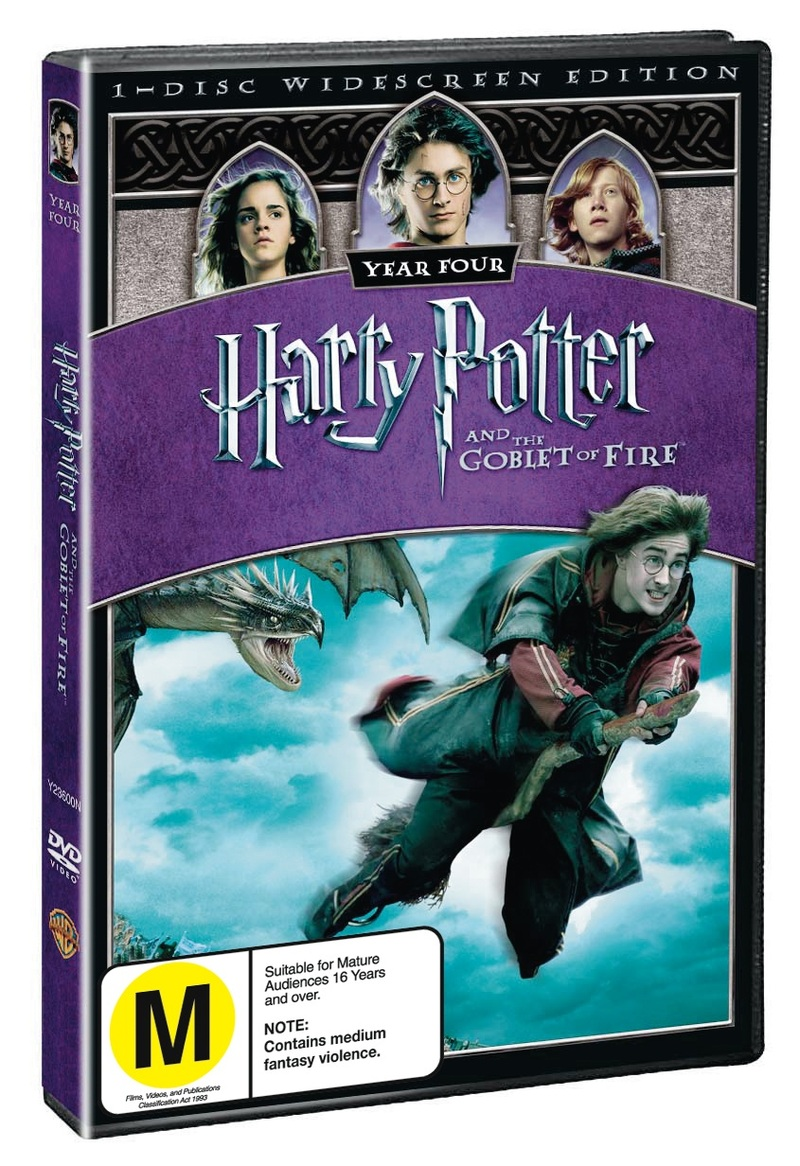 Harry Potter and the Goblet of Fire - 1 Disc (New Packaging) on DVD image