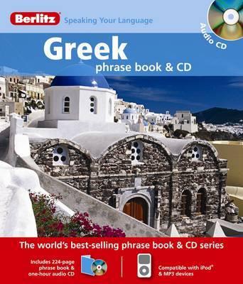 Greek Berlitz Phrase Book and CD