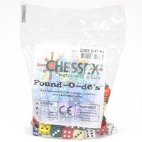 Chessex: Pound of d6