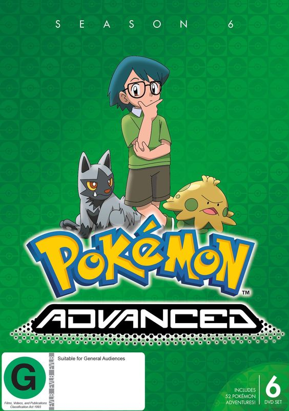 Pokemon Advanced - Season 6 on DVD
