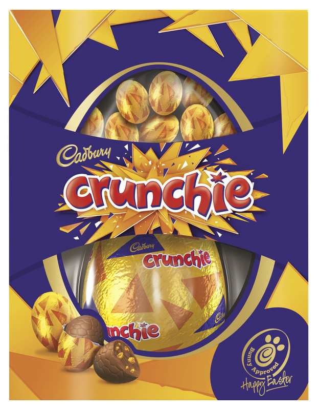 Cadbury Crunchie Gift Box 176g