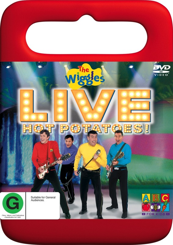 The Wiggles - Live: Hot Potatoes! (Handle Case) on DVD