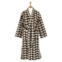 Orla Kiely Nutmeg Stem Luxury Jacquard Dressing Gown (L/XL)
