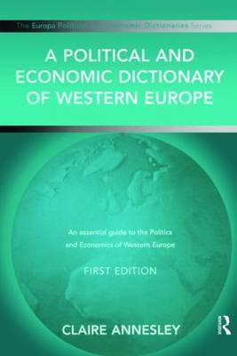 A Political and Economic Dictionary of Western Europe image
