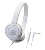 Audio-Technica ATH-CKS55iS DJ Headphones (White)