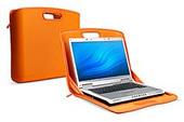 Belkin Laptop @ Home SleeveTop Case Grey with  Orange