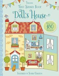 First Sticker Book Doll's House by Abigail Wheatley