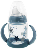 NUK: First Choice - Training Bottle 6 -18 Months (150ml) - Blue Stars
