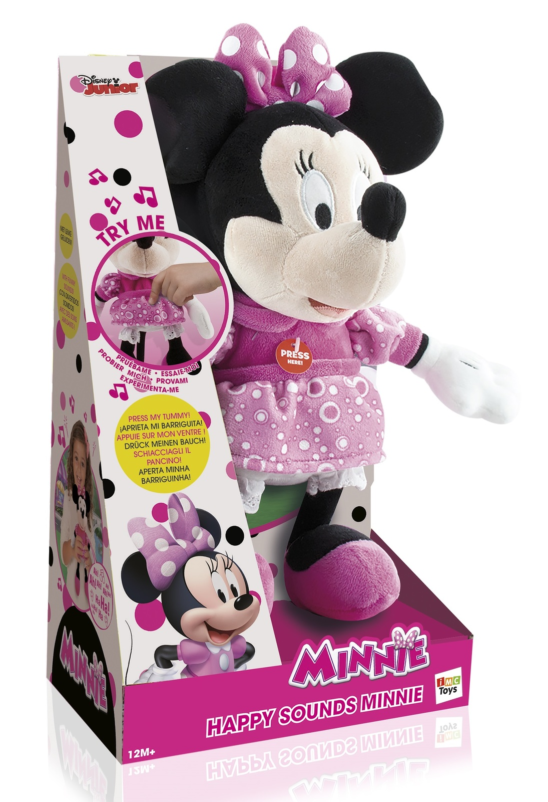 Disney: Happy Sounds Minnie - Soft Toy image
