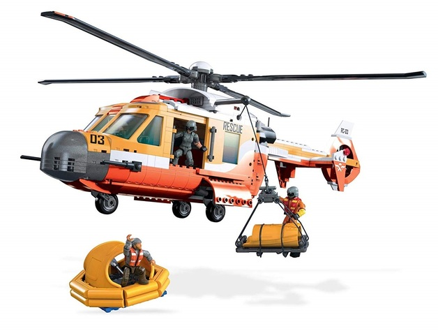 Mega Construx: Probuilder Set - Rescue Helicopter | Toy | at Mighty