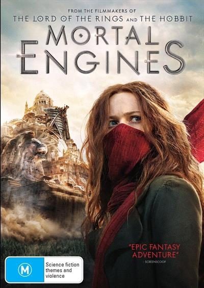 Mortal Engines on DVD