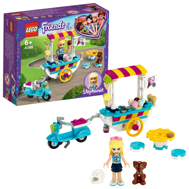 LEGO Friends: Ice Cream Cart - (41389)