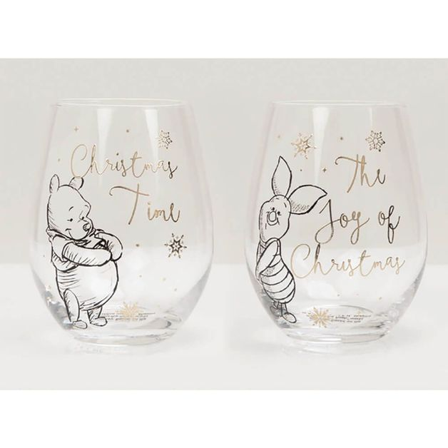 Collectible Set Of 2 Glasses: Pooh & Piglet