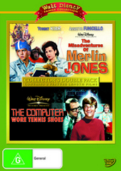 Misadventures Of Merlin Jones / Computer Wore Tennis Shoes - Collector's Double Pack (2 Disc Set) on DVD