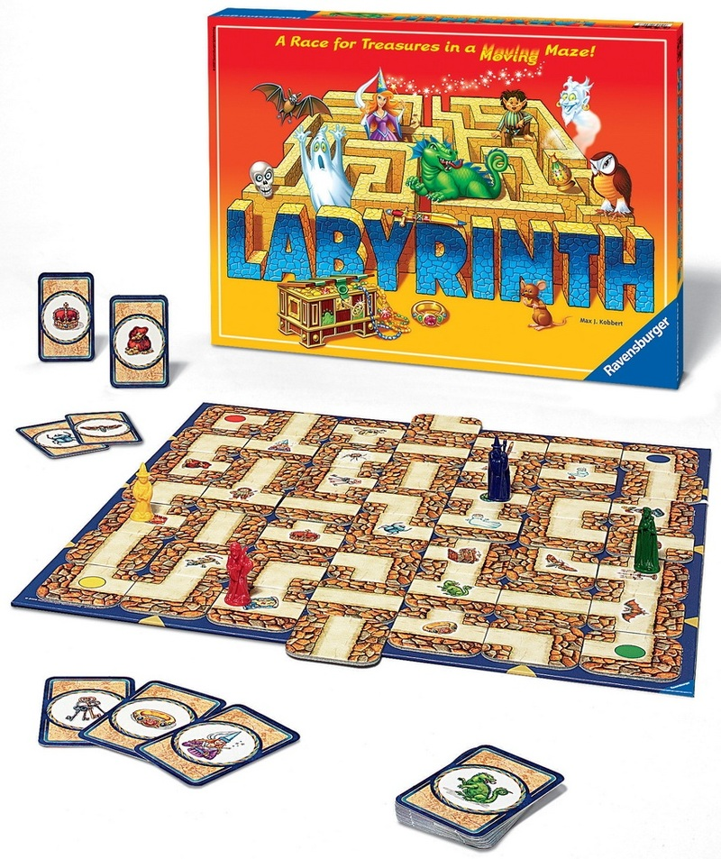 Ravensburger - The Amazing Labyrinth Board Game image