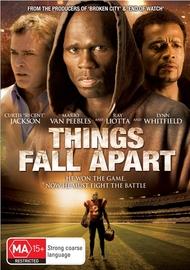 Things Fall Apart on DVD