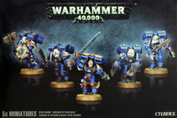 Space Marine Vanguard Squad