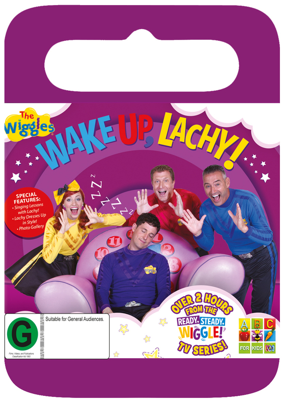 the wiggles wake up lachy dvd instock buy now