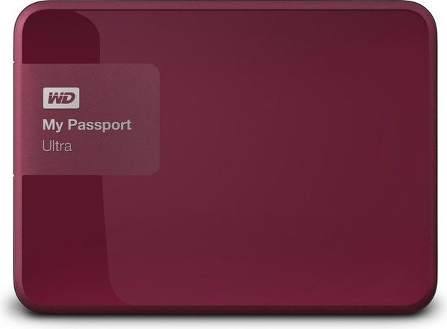 2TB WD My Passport Ultra - Red