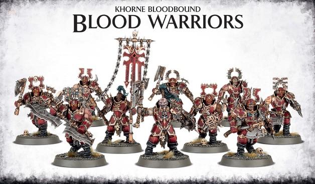 Warhammer Khorne Bloodbound Blood Warriors | at Mighty Ape ...