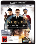 Kingsman: The Secret Service (4K UHD + UV + Blu-ray) DVD
