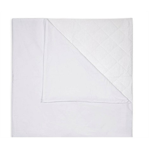 Brolly Sheets: Quilted Waterproof Sleeping Bag Liners - White