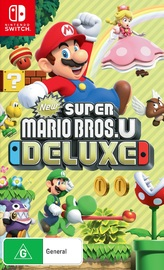 New Super Mario Bros. U Deluxe for Switch