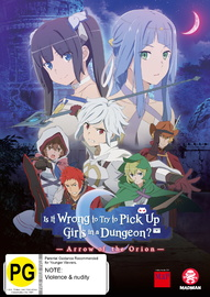 Is It Wrong To Try To Pick Up Girls In A Dungeon? Arrow of The Orion on DVD image