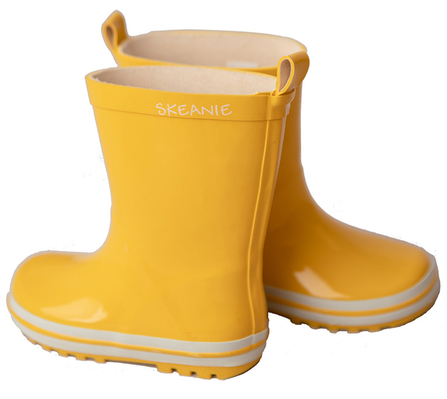 Skeanie: Kids Gumboots Yellow - Size 35