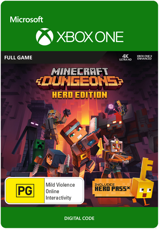 Minecraft Dungeons - Hero Edition (Digital Code) for Xbox One