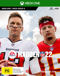Madden NFL 22 for Xbox Series X, Xbox One
