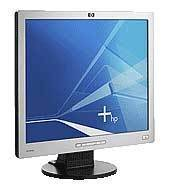 "Hewlett-Packard L1906 19"" LCD Monitor Carbonite Silver 1280 x1024"