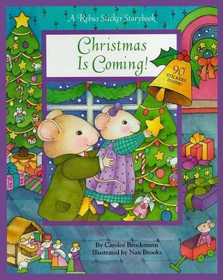 Christmas is Coming by Rebus Sticker Storybook image
