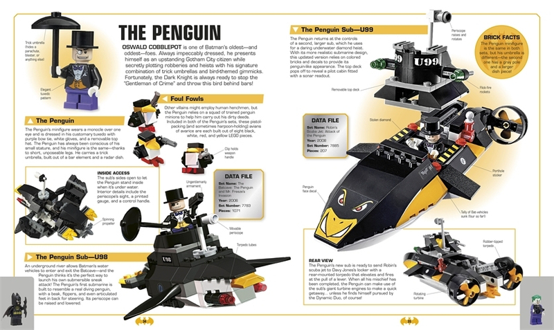 LEGO Batman Visual Dictionary (with exclusive Minifigure!) by Daniel Lipkowitz image