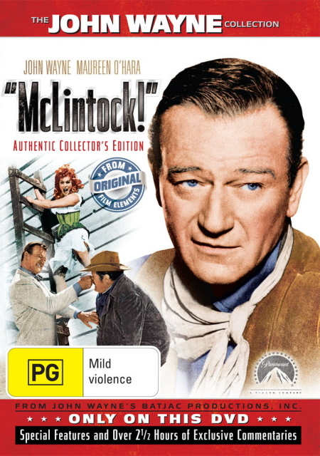 McLintock Special Edition on DVD