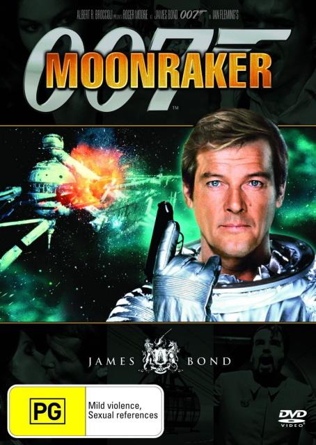 James Bond - Moonraker on DVD
