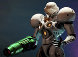 Metroid Prime Echoes Samus Light Suit 1/4 Statue